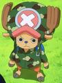 Chopper tenue camouflage
