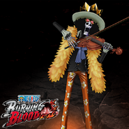One Piece Burning Blood Brook (Artwork)
