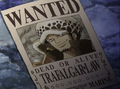 Recompensa de Trafalgar Law