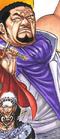 Fujitora's Manga Color Scheme