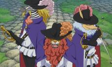 Los Tres Mosqueteros de Inuarashi