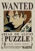 Puzzle bounty one piece