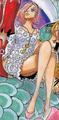 Reiju en la portada del capítulo 874