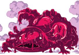 Sara Sara no Mi, modèle Axolotl Forme Animale Anime Infobox