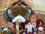 Monkey D. Luffy/Relationships/Pirates