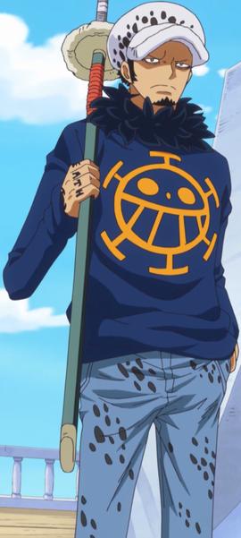 Trafalgar D. Water Law Anime Dos Años Después Infobox