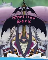 Barco huida de los Piratas de Thriller Bark