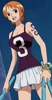 Segunda vestimenta de Nami en Water 7