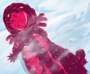 Smiley en forma de Salamandra