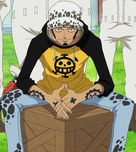 Trafalgar D. Water Law Anime Pre Timeskip Infobox