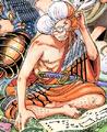 Inazuma en la portada del capítulo 547