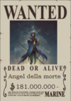 Angel della morte Wanted Poster