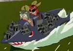 Kerodeek and Keroshot's First Speedboat