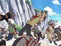 Kuro Attacks Crew