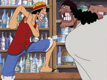 Monkey D Luffy History Paradise One Piece Wiki Fandom