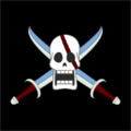 Piratas del Pelirrojo bandera