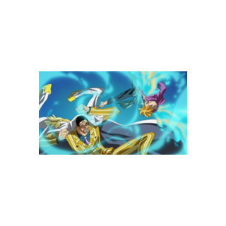 Marco ve Kizaru'nun dövüşü