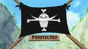 Jolly Roger de Barbablanca en Foodvalten
