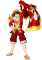 One Piece Unlimited World Red Luffy DLC 1