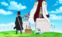 Sabo Visits Ace and Whitebeard's Grave