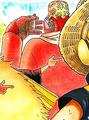 Scarlet's Manga Color Scheme