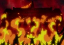 The estate of Don Quixote fire