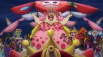 Big Mom Pirates Arrive at Wano