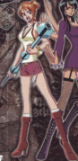 Nami's First Outfit Thriller Bark Arc
