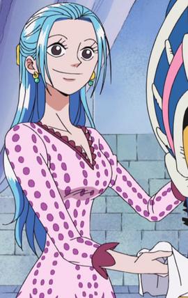 Nefertari Vivi Anime Pre Timeskip Infobox