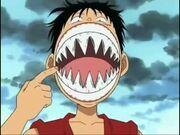 Luffy arlong