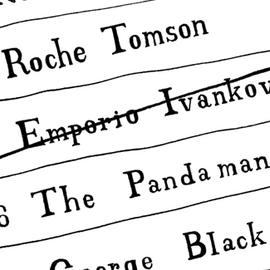 Roche Tomson et George Black Portrait