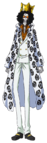 Brook Film Gold White Casino Outfit