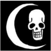 Crescent Moon Pirates Jolly Roger