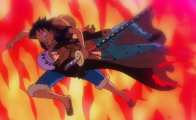 File:Luffy Saves Law from Trebol's Explosion.png
