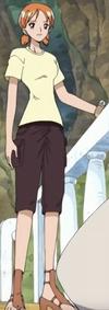 Nami's Second Skypiea Arc Outfit
