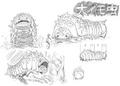 O-Imomushi Concept Art