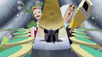 Episode of Alabasta: La princesa del desierto y los piratas/Enfrentamientos