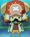 Chopper como samurái