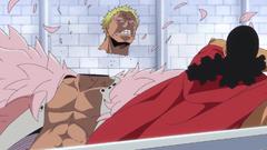 Kyros decapita a Doflamingo