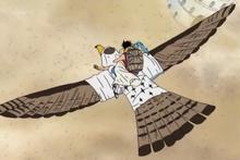 Pell's Full Falcon Form
