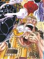 Gatz en couleur dans le Manga