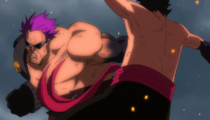 Haki Battle Luffy vs. Zephyr