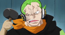 Le visage de Yonji restructuré