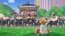 Sanji Rejects Luffy