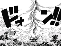 Big Mom's and Kaido's Haki Clash