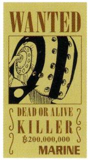 Killer Avis de Recherche