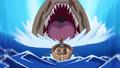 Luffy face au Monstre