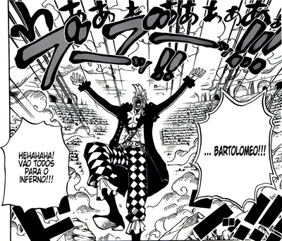 One Piece 709 Bartolomeo Vence o Bloco B