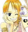 Nami's Alabasta Arc Appearance's Color Scheme in the Manga