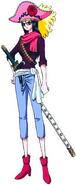 Tashigi Stampede Outfit